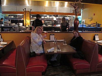Dinner at Matt's Rotisserie and Oyster Lounge in Redmond Town Center.