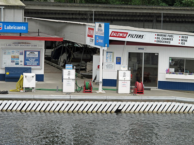 Gas station for boats.