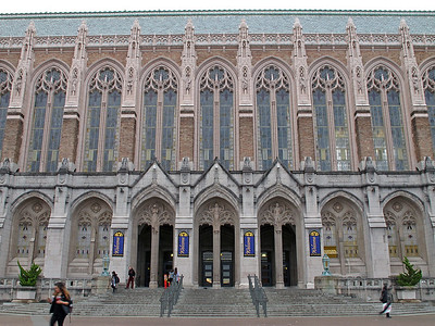 Suzallo Library at the University of Washington in Seattle.