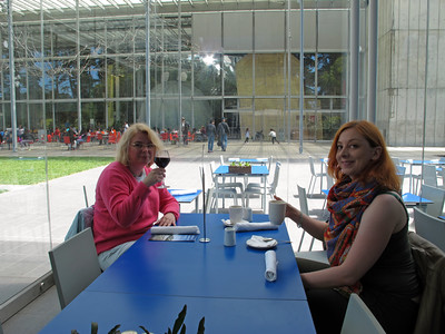Breakfast at the California Academy of Sciences complex.