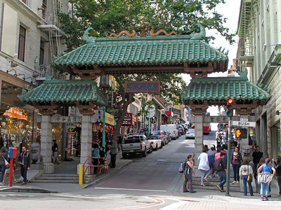 Main gate to the Chinatown.