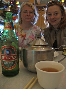 Alex wanted to try Tsingtao, so we did.