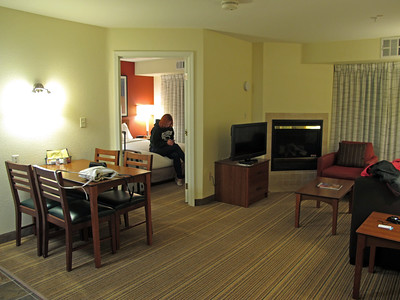 We stayed at Residence Inn by Marriott in Salinas, which offers 2-bedroom suites with kitchen - a good and reasonably priced option for families. This is the third time we stayed at this hotel. It's 20 minutes from Monterey.