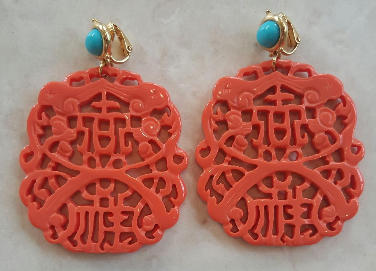 Kennetu J Lane earring, jumbo sized