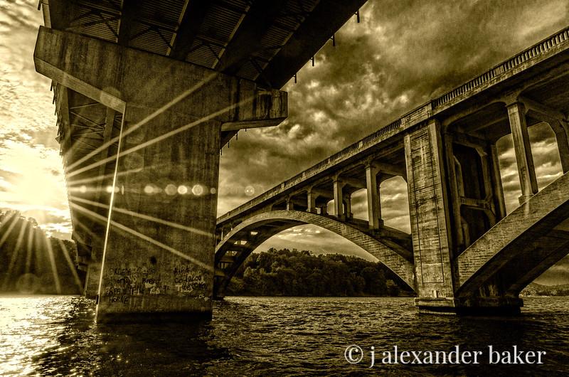 Lake Tillery Bridges Lake Tillery Bridges, North Carolina, North Carolina