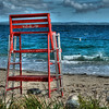 Queenslands Beach lifeguard stand