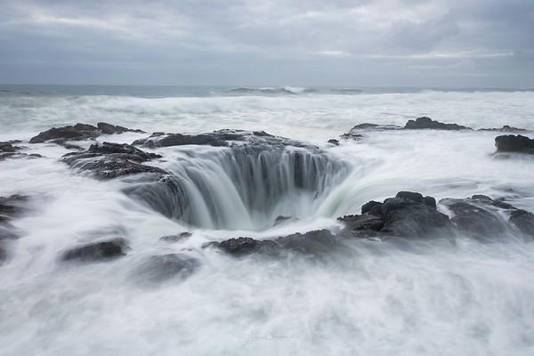 Thor's Well ~ Oregon Coast