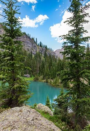 Silver Basin Road Blue Lake ~ Colorado