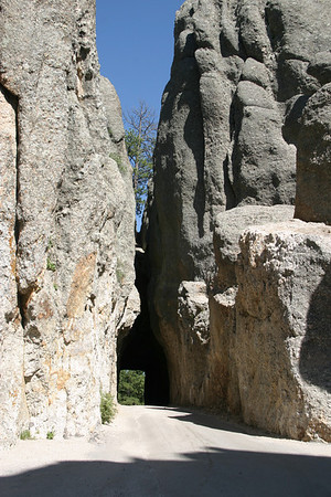 The Needles Highway in Custer State Park, South Dakota.