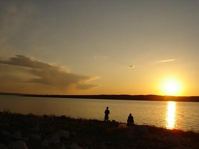 Still fishing at Okobojo Point (Nebraska).