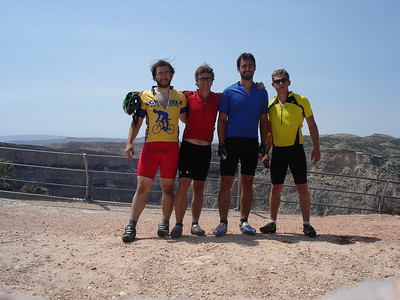 The whole crew at Devils Canyon Overlook. I didn't realize I was that short.