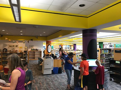 The children's section of the Rochester Hills Public Library in downtown Rochester. Photo by Stephen Frye / Digital First Media