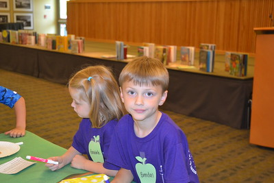 Children at the Bloomfield Township Public Library in the summer reading program. Educators say reading helps children retain knowledge across all academic subjects when they are on summer recess from school. Anne Runkle-The Oakland Press