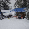 Our dining hut  was our main hang out.