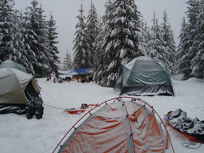 2010 New Year Eve Winter Camp Out