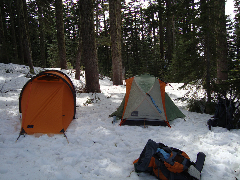 My green/orange tent is a 4 season general all season hiking \ camping.