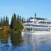 Credit: Riverboat Discovery<br /> <br /> The Riverboat Discovery cruises down the Chena River.