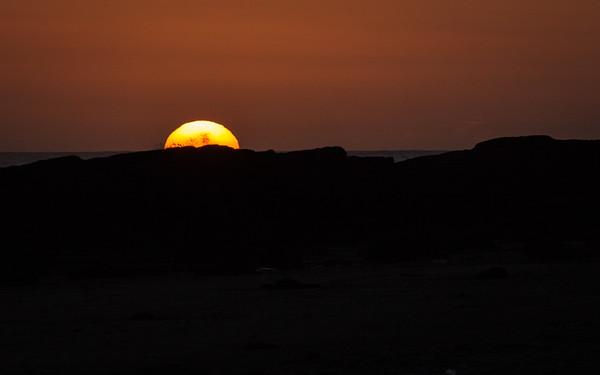 Sunset on the West Coast Trail