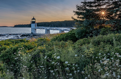 Marshall Point Lighthouse sunset - Port Clyde
