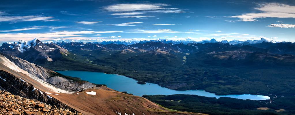 Opal Peak Panorama