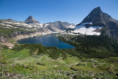 Hidden Lake, Glacier National Park.