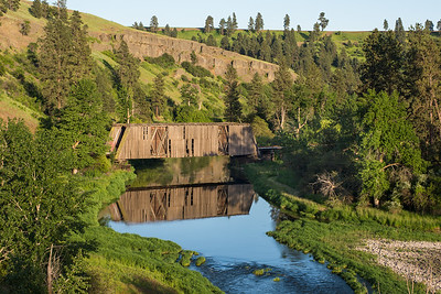 Palouse River Covered Bridge