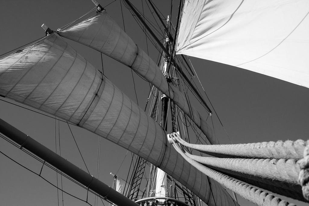 """sail and rigging"""