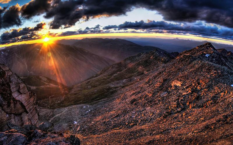 Mordor Sunset