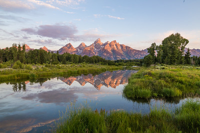 Grant Teton Morning Reflections
