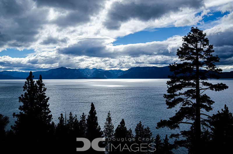 Clearing Storm Over Lake Tahoe