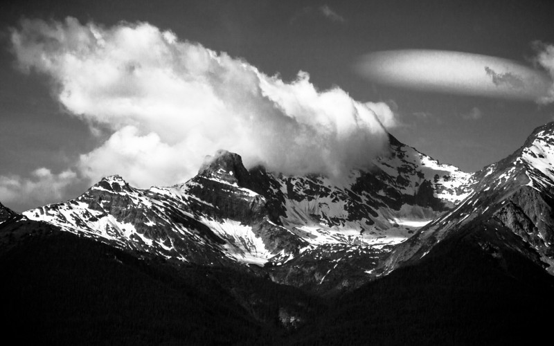 Day Breaks on Mica Mountain