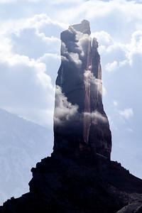 Castleton Tower, Castle Valley, Moab, Utah.