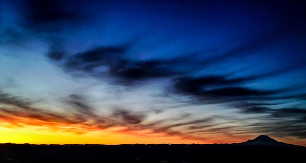 Mount Rainier sunrise