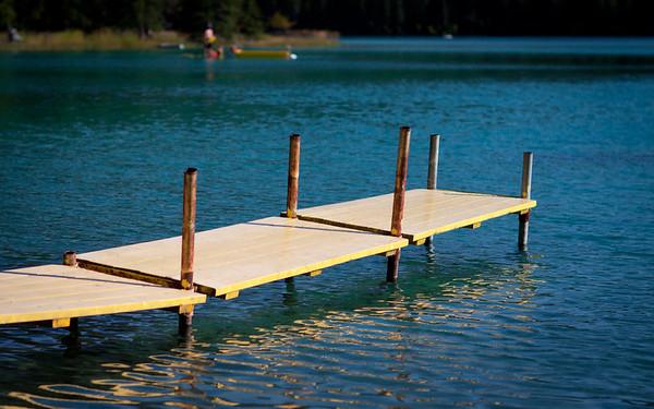 Summer at Lake Edith