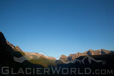 Mountain views, Glacier National Park