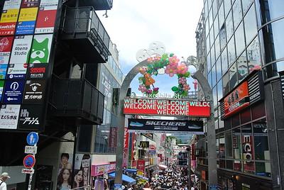 Takeshita Street in Harajuku (6/26)