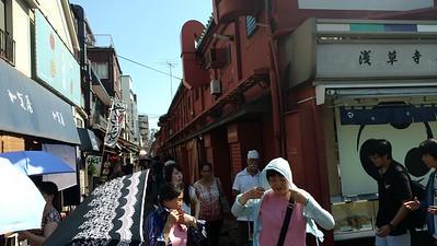 Nakamise Shopping Street - back alley (6/27)