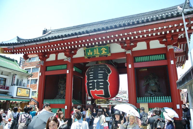 Entrance to Sensoji Temple (6/27)