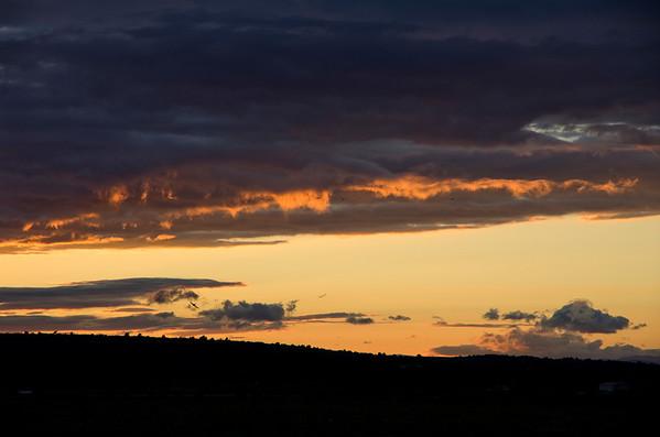 Day 23: St Pierre La Mer Sunset (3 Photographs)