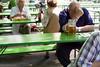 Lunchtime beer in the Englischer Garten, Munich