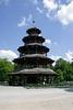 The Chinesischer Turm in the Englischer Garten, Munich