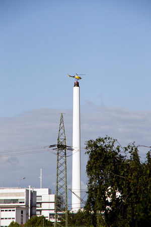 Day 42: Two Men on a Smokestack (13 Photographs)