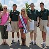 International Students with Miss Jr. Teen Virginia International 2012