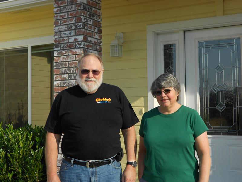 Bill and sister Karen