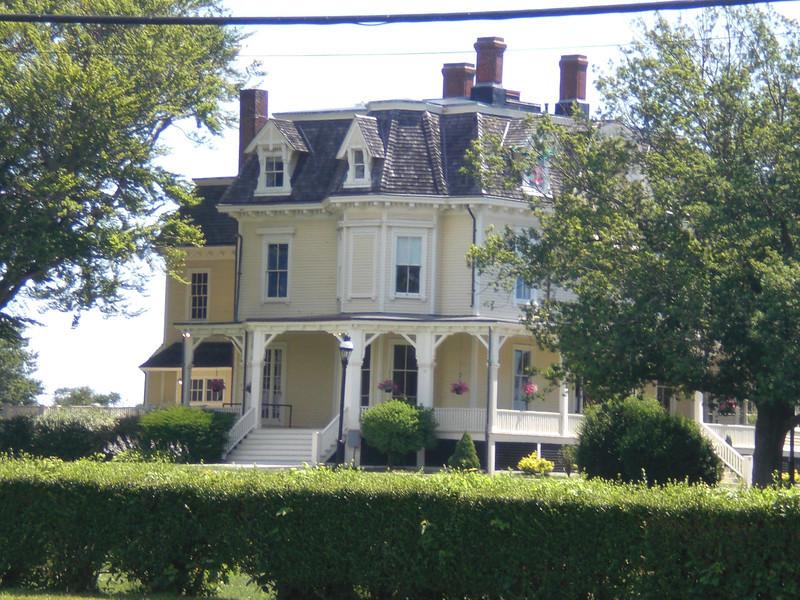 Eisenhower's home in Newport
