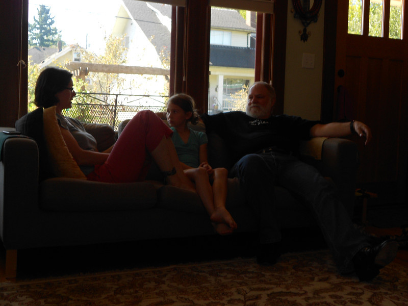 Kymber , Beija, and Grandpa