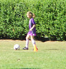 She made a goal--good ball handling skills!