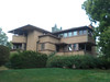 Frank Lloyd Wright house in the neighborhood in Madison