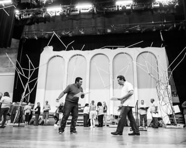 Narnia - Behind the Scenes Rehearsal Photos