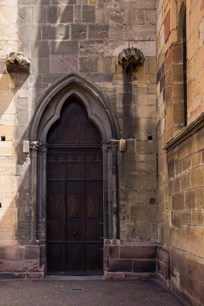 Side Door, Colmar Cathedral